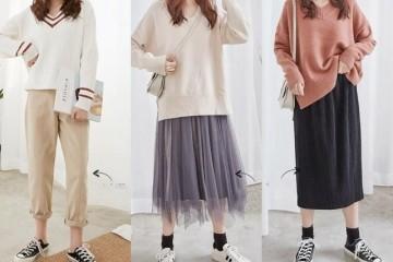 冬季也要做高雅气质的女性学会这些温顺系的毛衣调配就够了
